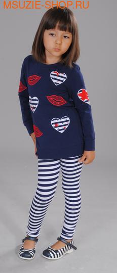 Флер де Ви туника. 110 синий ростДжемпера, рубашки, кофты<br><br>