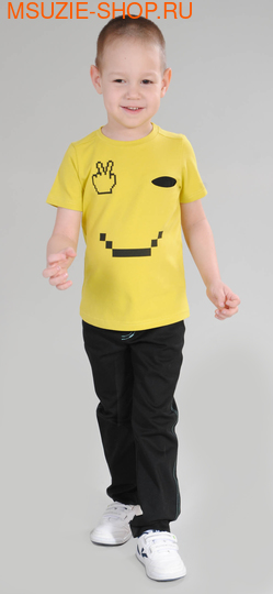 Милашка Сьюзи футболка. 104 желтый ростДжемпера, рубашки, кофты<br><br>