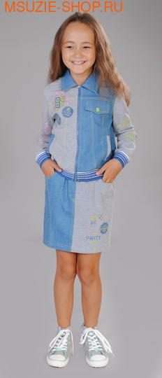 Милашка Сьюзи куртка+юбка. 116 серый ростКомплекты<br><br>