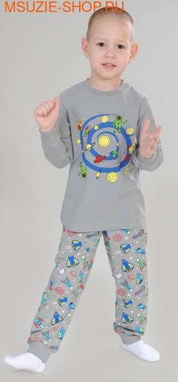 Флер де Ви пижама. 104 серый ростОдежда для дома<br><br>