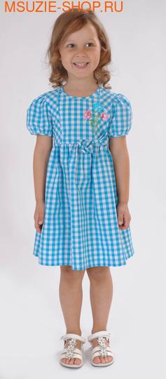 Милашка Сьюзи платье. 104 тёмно-бирюзовый ростПлатья <br><br>