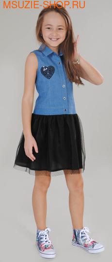 Милашка Сьюзи платье. 116 голубой ростПлатья <br><br>