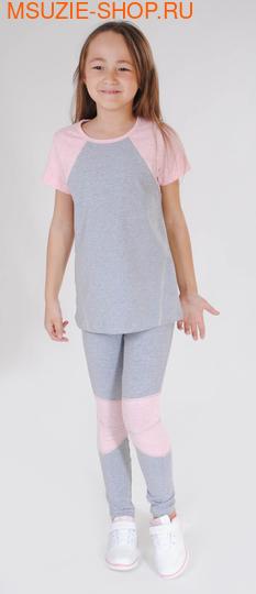 Милашка Сьюзи футболка. 116 серый ростСпортивная форма<br><br>