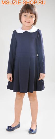 Флер де Ви платье. 122 т.синий ростПлатья/фартуки <br><br>