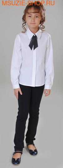 Флер де Ви блузка. 122 белый ростБлузки<br><br>