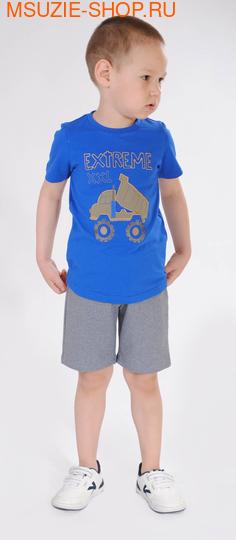 Милашка Сьюзи футболка+шорты. 92 васильковый ростКостюмы <br><br>