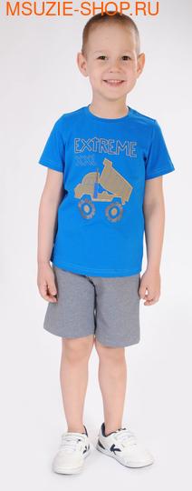 Милашка Сьюзи футболка+шорты. 92 голубой ростКостюмы <br><br>