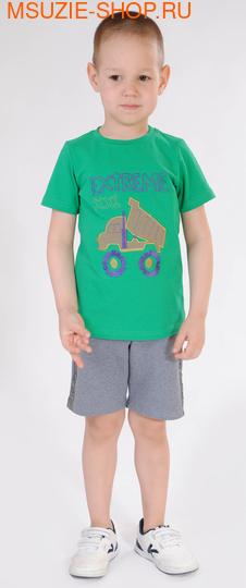 Милашка Сьюзи футболка+шорты. 92 зеленый ростКостюмы <br><br>