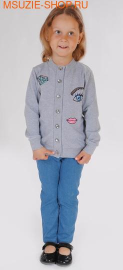 Милашка Сьюзи кардиган. 104 серый ростДжемпера, рубашки, кофты<br><br>