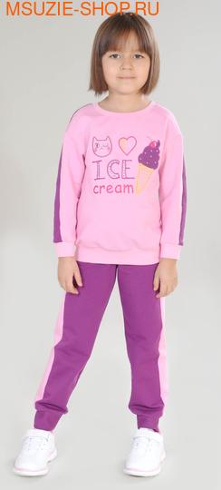 Милашка Сьюзи джемпер+брюки. 104 розовый ростКомплекты<br><br>