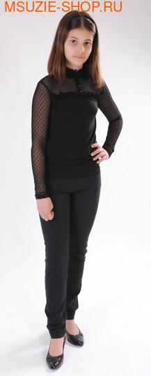 Милашка Сьюзи блузка. 146 черный ростНовинки<br><br>