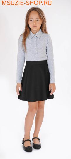Флер де Ви блузка. 128 серый ростНовинки<br><br>