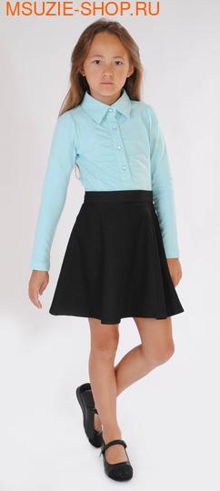 Флер де Ви блузка. 128 св.голубой ростНовинки<br><br>