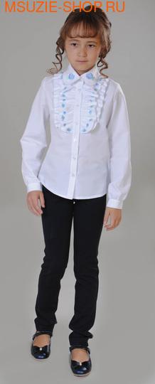Флер де Ви блузка. 122 белый ростНовинки<br><br>