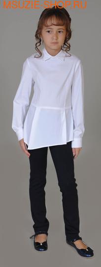 Флер де Ви блузка. 134 белый ростНовинки<br><br>