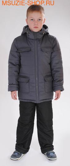 Милашка Сьюзи зимняя куртка. 122 серый ростЗима <br><br>