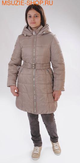 Милашка Сьюзи зимнее пальто. 146 бежевый ростЗима<br><br>