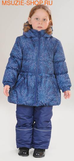 Милашка Сьюзи зимняя куртка+полукомбинезон. 104 т.синий ростЗима<br><br>