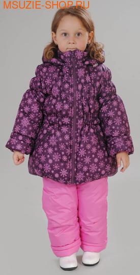 Милашка Сьюзи зимняя куртка+полукомбинезон. 104 фиолетовый ростЗима<br><br>