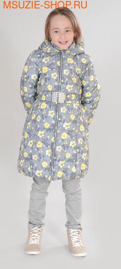 Милашка Сьюзи зимнее пальто. 116 серый ростЗима<br><br>