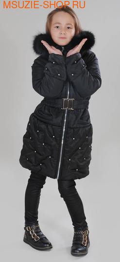Милашка Сьюзи зимнее пальто. 128 черный ростЗима<br><br>