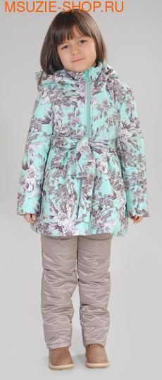 Милашка Сьюзи осенняя куртка+брюки. 128 светло-зелёный рост