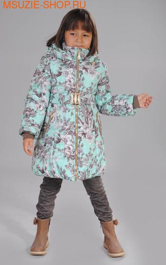 Милашка Сьюзи зимнее пальто. 110 светло-зелёный ростЗима<br><br>