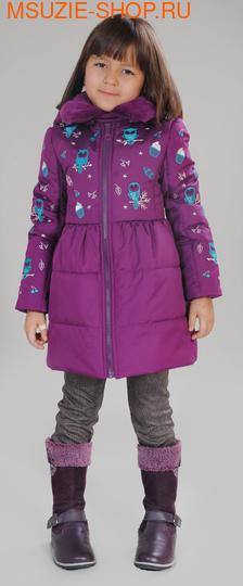 Милашка Сьюзи осенняя куртка. 104 фиолетовый ростВесна-осень<br><br>