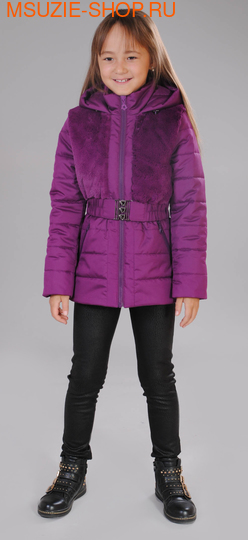 Милашка Сьюзи осенняя куртка. 122 фиолетовый ростВесна-осень<br><br>