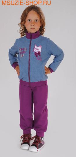 Милашка Сьюзи куртка+брюки. 104 серо+голубой ростКомплекты<br><br>
