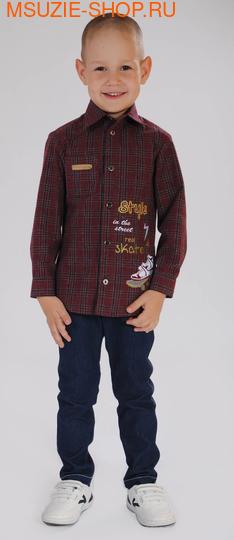 Милашка Сьюзи сорочка. 104 бордовый ростШкольная форма<br><br>