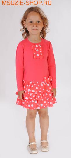 Милашка Сьюзи платье. 104 коралловый ростПлатья <br><br>