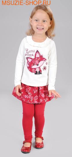 Милашка Сьюзи блузка+юбка-лосины. 86  молочный ростКомплекты<br><br>