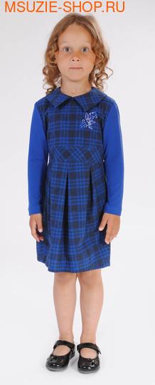 Милашка Сьюзи платье. 104 васильковый ростПлатья <br><br>