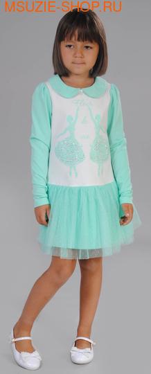Флер де Ви платье. 104 св.зеленый ростПлатья <br><br>