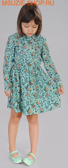 Флер де Ви платье. 104 св.зеленый (рис) ростПлатья <br><br>