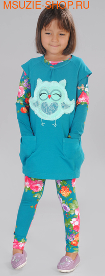 Флер де Ви туника+блузка. 104 м.волна ростКомплекты<br><br>