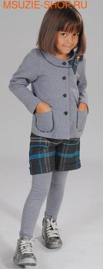 Флер де Ви жакет. 104 серый ростДжемпера, рубашки, кофты<br><br>