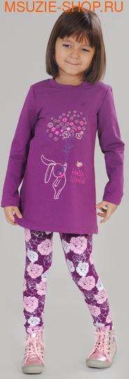 Флер де Ви туника. 104 фиолетовый ростДжемпера, рубашки, кофты<br><br>