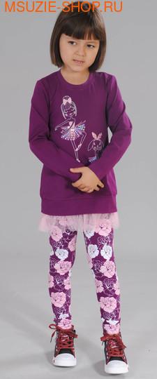 Флер де Ви туника. 110 фиолетовый ростДжемпера, рубашки, кофты<br><br>
