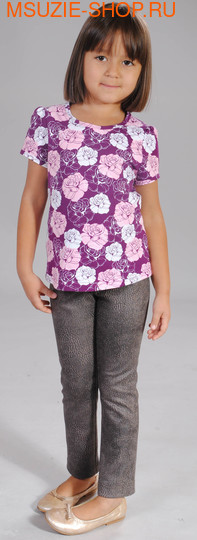 Флер де Ви блузка. 104 фиолетовый ростДжемпера, рубашки, кофты<br><br>
