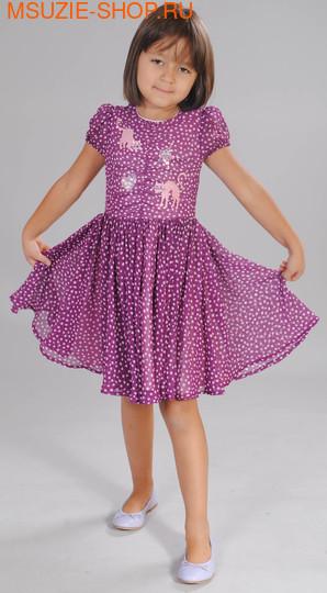 Флер де Ви платье. 104 фиолетовый ростНарядные платья <br><br>