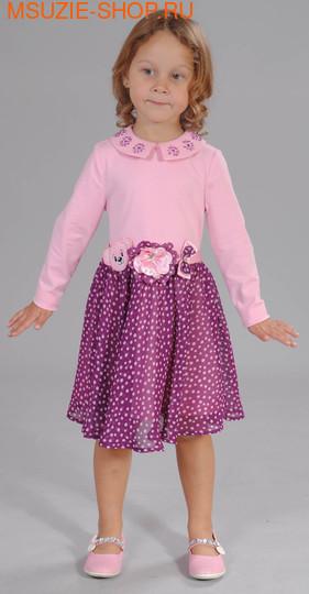 Флер де Ви платье. 92 розовый ростПлатья <br><br>