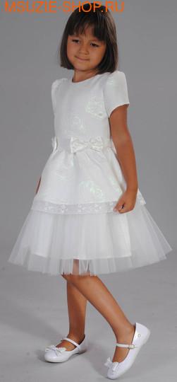 Флер де Ви платье. 104 молочный ростНарядные платья <br><br>