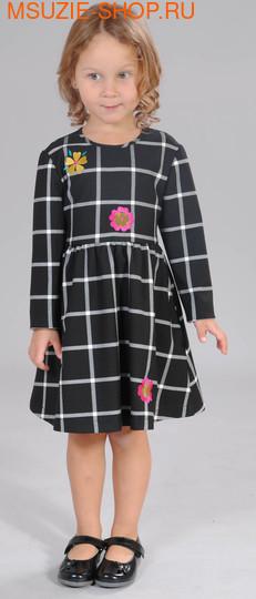 Флер де Ви платье. 104 черный ростПлатья <br><br>