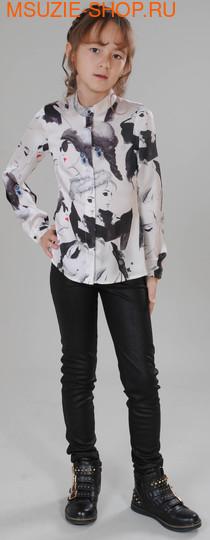 Флер де Ви блузка. 122 принт ростДжемпера, рубашки, кофты<br><br>