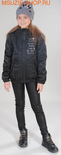 Флер де Ви куртка+шапка (ОСЕНЬ). 116 черный ростВесна-осень<br><br>