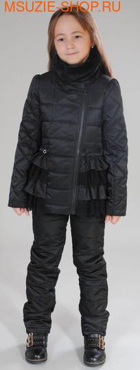 Флер де Ви куртка+брюки (ОСЕНЬ). 116 черный ростВесна-осень<br><br>