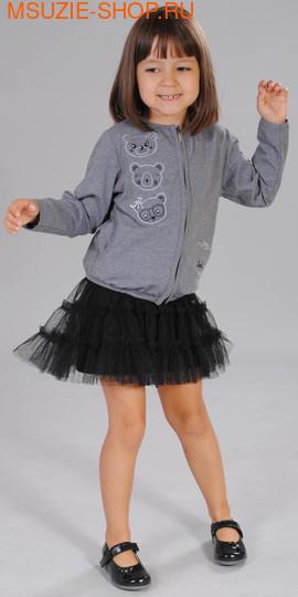 Флер де Ви жакет+юбка. 104 серый ростКомплекты<br><br>