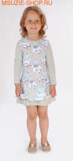 Флер де Ви платье. 104 св.бежевый ростПлатья <br><br>